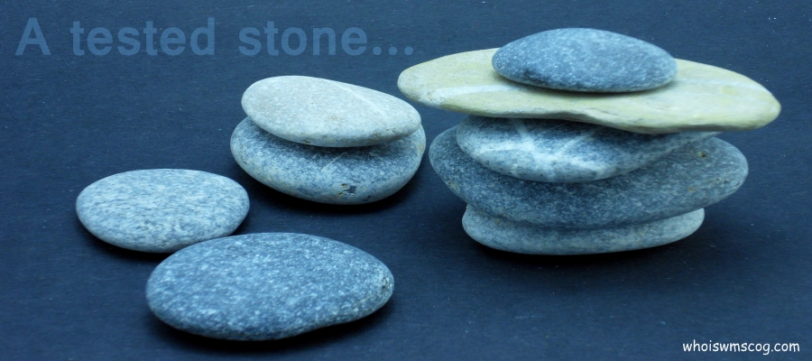 A TESTED STONE IN WMSCOG