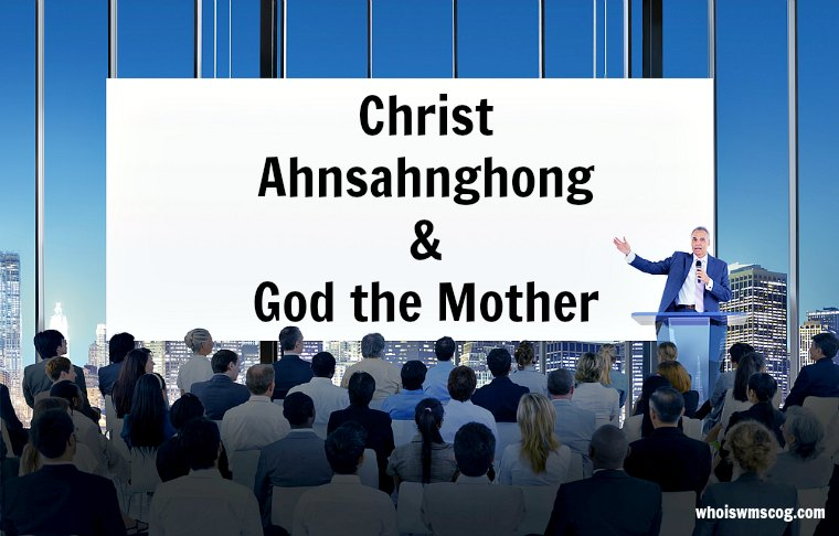 Give Me The Words Make Known God the Mother and God Ahnsahnghong (WMSCOG) whois