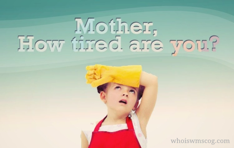 Mother how tired are you (WMSCOG)-Father Ahnsahnghong & God the Mother