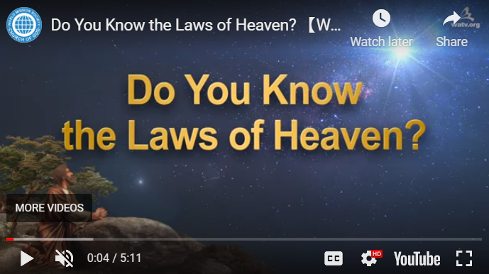 The laws of Heaven